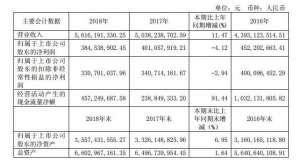 原材料价格大幅上涨等因素导致阳光2018年阳光同比下降4钢垫圈.12%钢垫圈